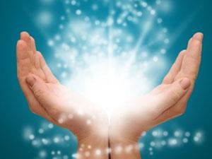 Energy Healing Hands Photo