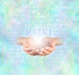 Image of Reiki healing hands
